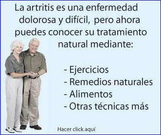 remedios artritis