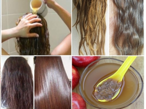 vinagre de manzana para el cabello