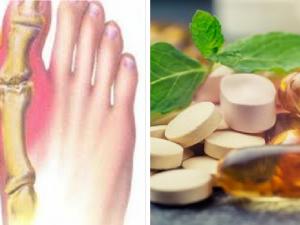 vitaminas y minerales para la gota