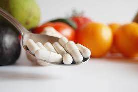 vitaminas y minerales para las quemaduras