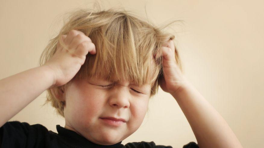 Resultado de imagen para niños dolor cabeza