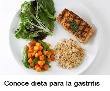 dieta para la gastritis