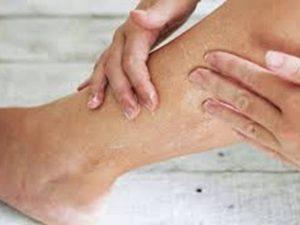 piernas secas