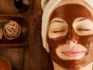 mascarillas de chocolate para la piel y el cabello
