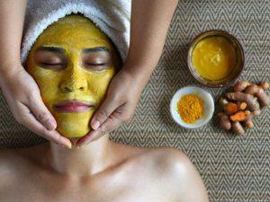 mascarillas de curcuma para la piel