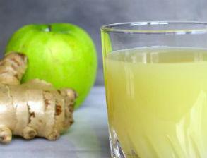 zumos de manzana