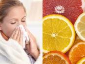 vitaminas y minerales para la gripe