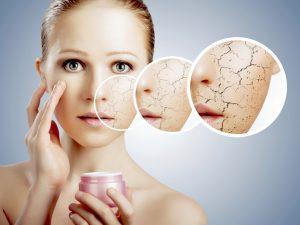 vitaminas y minerales para la piel seca