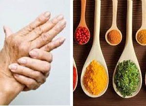 hierbas y especias para la artritis