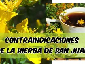 contraindicaciones san Juan o hiperico