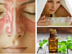 aceites esenciales para la sinusitis