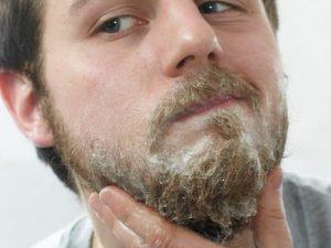 aceite de coco para la barba