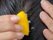 como usar el limón para el crecimiento de cabello