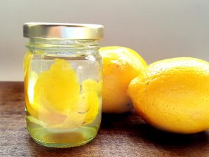 como hacer extracto de limón