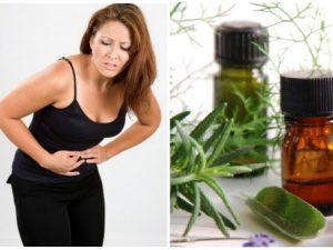 aceites esenciales para los colicos menstruales
