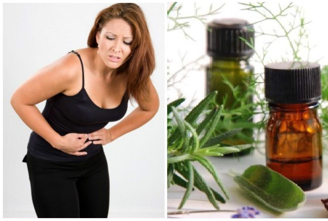 Aceites esenciales para colicos menstruales o dolores