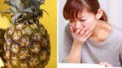 contraindicaciones de la piña