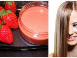 fresas para la piel y el cabello