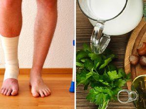 vitaminas huesos fracturados