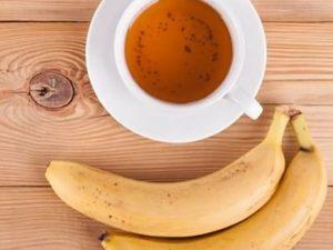 infusión de plátano y canela